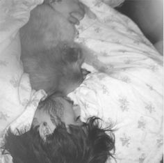 Zayn Malik Snuggles in Bed With Dog: Perrie Edwards Posts Adorable Zayn and Hatchi Sleeping Pic | Cambio