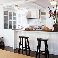 William Hefner's Tudor house kitchen remodel in L.A.
