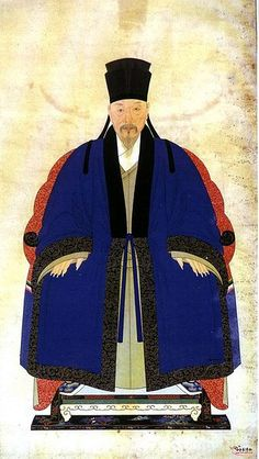 Portrait from China Ming Dynasty