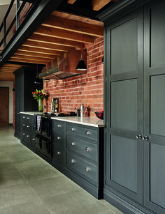 Tom Howley - Hartford Industrial Style Shaker Kitchen