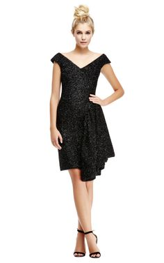 My favorite dress for holiday: Tinsel Dress with Draped Side by Simone Rocha Now Available on Moda Operandi