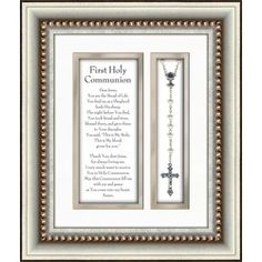 A great First Communion gift that doubles as a stylish keepsake. $34.95 #CatholicCompany