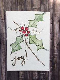 The best homemade Christmas cards & DIY Christmas cards handmade simple & elegant. If you're looking for beautiful Christmas cards to make, such as watercolor Christmas cards, Christmas cards handmade elegant, painted Christmas cards and Christmas cards handmade watercolour you'll love these simple Christmas card ideas and Christmas card inspiration! #christmas #christmascards #cards #christmascardshandmade #homemadechristmascards #watercolorchristmascards #watercolor Painted Christmas Cards, Watercolor Christmas Cards, Christmas Card Crafts, Homemade Christmas Cards, Christmas Drawing, Christmas Paintings, Watercolor Cards, Xmas Cards, Christmas Art