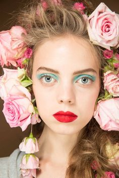 Rodarte spring 2019 ready-to-wear fashion show beauty: see beauty photos for rodarte spring 2019 ready-to-wear collection. look 3 Make Up Looks, Winter Makeup, Spring Makeup, Catwalk Makeup, Runway Makeup, Sephora, Show Beauty, Glossy Makeup, Dramatic Makeup