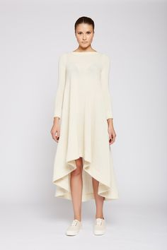 Dress Asymmetrical Hem Line