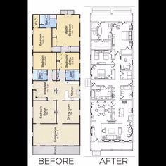 the new orleans house home design floor plans pinterest
