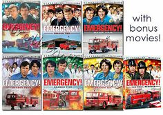 images of emergency tv show | Emergency! Complete TV Series DVD Season 1 2 3 4 5 6 + Final Rescues ...