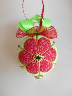 Christmas Present Holiday Decoration Gift by UniqueGiftOrnaments