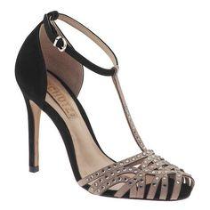 Schutz Demi High Sandals ($195) found on Polyvore