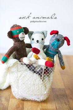 sock-animals DIY