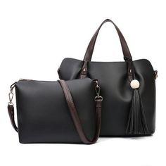 Fashion Tassel Women Handbag Set Casual Women Shoulder Bags