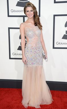 Brooklyn Haley from 2014 Grammys: Red Carpet Arrivals | E! Online