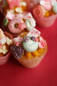 cute cute cupcakes ♥ Dessert