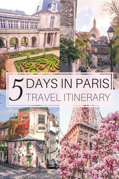 Your Ultimate Guide on How to Spend the Perfect 5 Days in Paris Travel Itinerary. Best day trips, arrondissements and things to do during five days in Paris, France. Travel Ultimate Guide on How to Spend the Perfect 5 Days in Paris Paris Travel Guide, Europe Travel Tips, European Travel, Places To Travel, Travel Destinations, Places To Go, Paris France Travel, Asia Travel, Instagram Inspiration