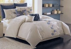 Serena Blue Bedroom - my master bedroom duvet cover