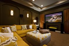 Home Theatre Design Ideas, Pictures, Remodel and Decor