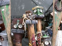 Crafting a Green World | Upcycling Inspiration: Stunning Pieces of Found Object Art | Page: 1 | Crafting a Green World
