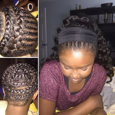 Crochet braid pattern for Crochet ponytail. First attempt for ponytail ...