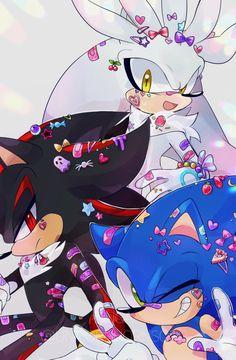 Silver The Hedgehog, Shadow The Hedgehog, Sonic The Hedgehog, Shadow And Amy, Sonic And Shadow, Sonic Anime, Chihiro Y Haku, Sonic Funny, Sonic Franchise
