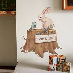 Woodland Personalised Wall Sticker