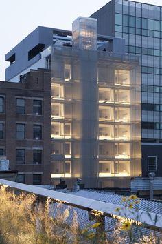 Hotel Americano in Manhattan.