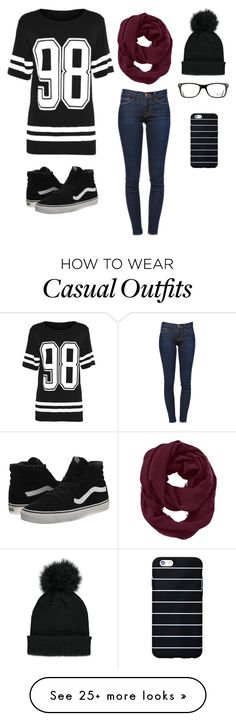 """""""Casual Dance"""" by jkaeemtgs on Polyvore featuring Frame Denim, Vans, Athleta, Forever 21 and Ray-Ban"""