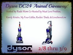 Dyson DC24 Animal Giveaway