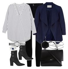 """""""Untitled #3627"""" by amyn99 ❤ liked on Polyvore featuring Givenchy, Monsoon, Yves Saint Laurent, Monki, Marc by Marc Jacobs, Topshop, Accessorize and Michael Kors"""