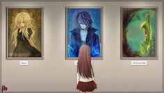ib anime screen shots   ... ちぃ さんのイラスト 【Ib】忘れられた肖像