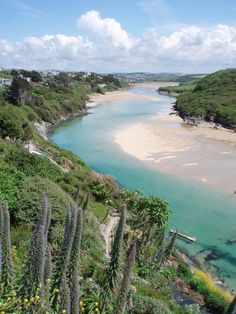 Crantock Bay, Cornwall A real home from home. Love it down there.