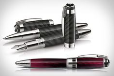 Montblanc Alfred Hitchcock Pens. If you love fine writing instruments., #diditdirect