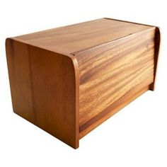 Bread Box Target Threshold™ Acacia Wood Bread Box  Target Mobile  My Style