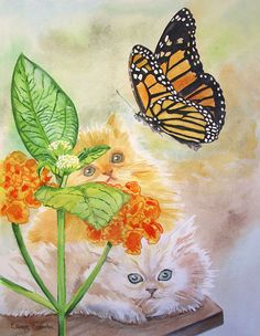 Watching The Day Flutter By-SOLD.   Ellary Branden