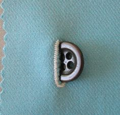 Beautifully Buttoned: A How-To of Button Placing and Spacing
