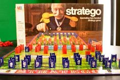 Stratego - very few friends had this game.  We played all the time.