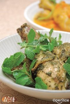 Roasted Mint Chicken Drumstick Recipe 薄荷烤鸡腿食谱