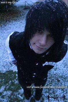 snow emo boy @Kirsty Smith Smith Gold