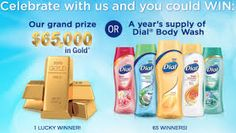 Dial Soap Giveaway Year Supply!
