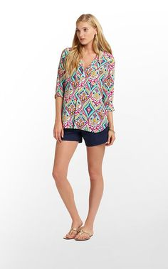 Boston Top by Lilly Pulitzer.