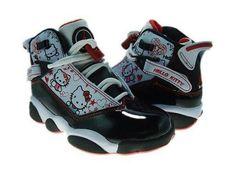 half off 33381 5d4cc Hello kitty Jordans Where can i buy them