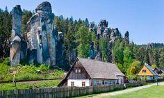Teplice Rocks, Adrspach, Czech Republic