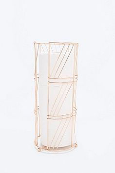 Tissue Holder in Rose Gold - Urban Outfitters