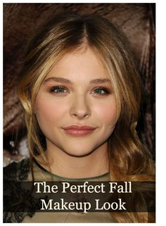 Get the Look: Chloë Moretz's Perfect Fall Makeup