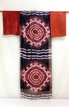 Edric Ong EO's latest 'sappan-wood' clamped resist shibori
