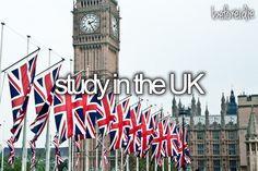 I want to in London and move there for a little bit... for as long as I can afford it! :)