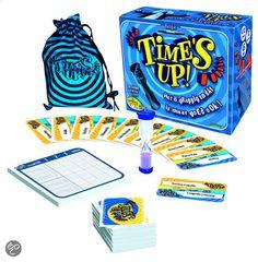 bol.com | Time's Up! - Belgische Versie - Blauw - Kaartspel | Speelgoed