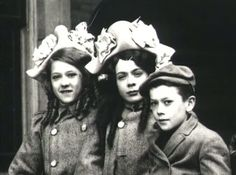 Lottie, Mary and Jack Pickford
