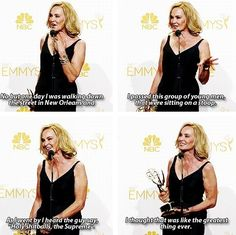 Her power is basically unstoppable. | 23 Reasons Jessica Lange Is The Most Flawless Human To Ever Exist