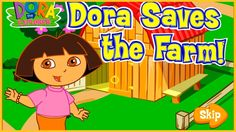 #Gameplay Dora Saves the farm - Games for Kids