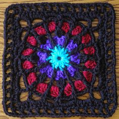 1000 Images About Crochet Stained Glass Afghans On